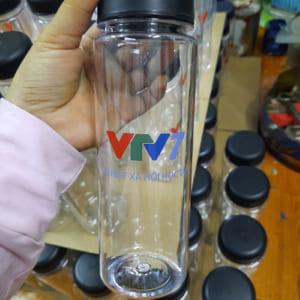 Bình Đựng Nước Nhựa In Logo Theo Yêu Cầu