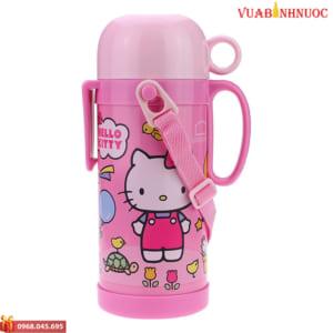 Bình Giữ Nhiệt Hello Kitty Funny Zoo Lock&Lock HKT312P 600ml