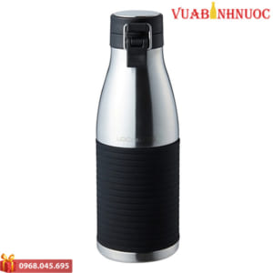 Bình Giữ Nhiệt Lock&Lock Cylinder Bottle LHC4145 (430ml) Bạc