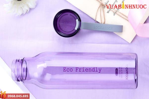 Bình Lock&Lock Eco Water Bottle Màu Tím