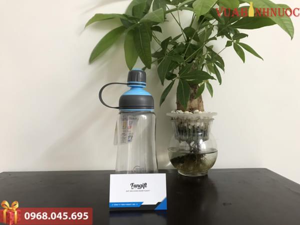 Bình nước nhựa dáng thể thao 500ml