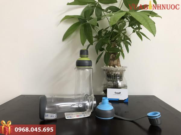 Bình nước nhựa in theo yêu cầu