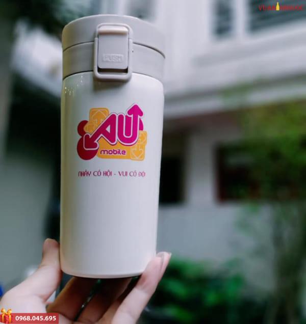 In logo bình nước theo yêu cầu