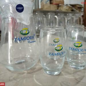 Bộ bình nước in logo Tamiqua Cosmetics