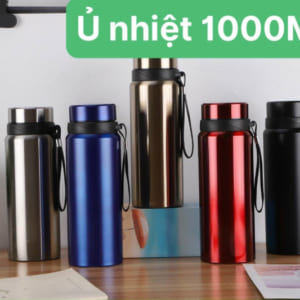 Ly giữ nhiệt 1000ml in logo